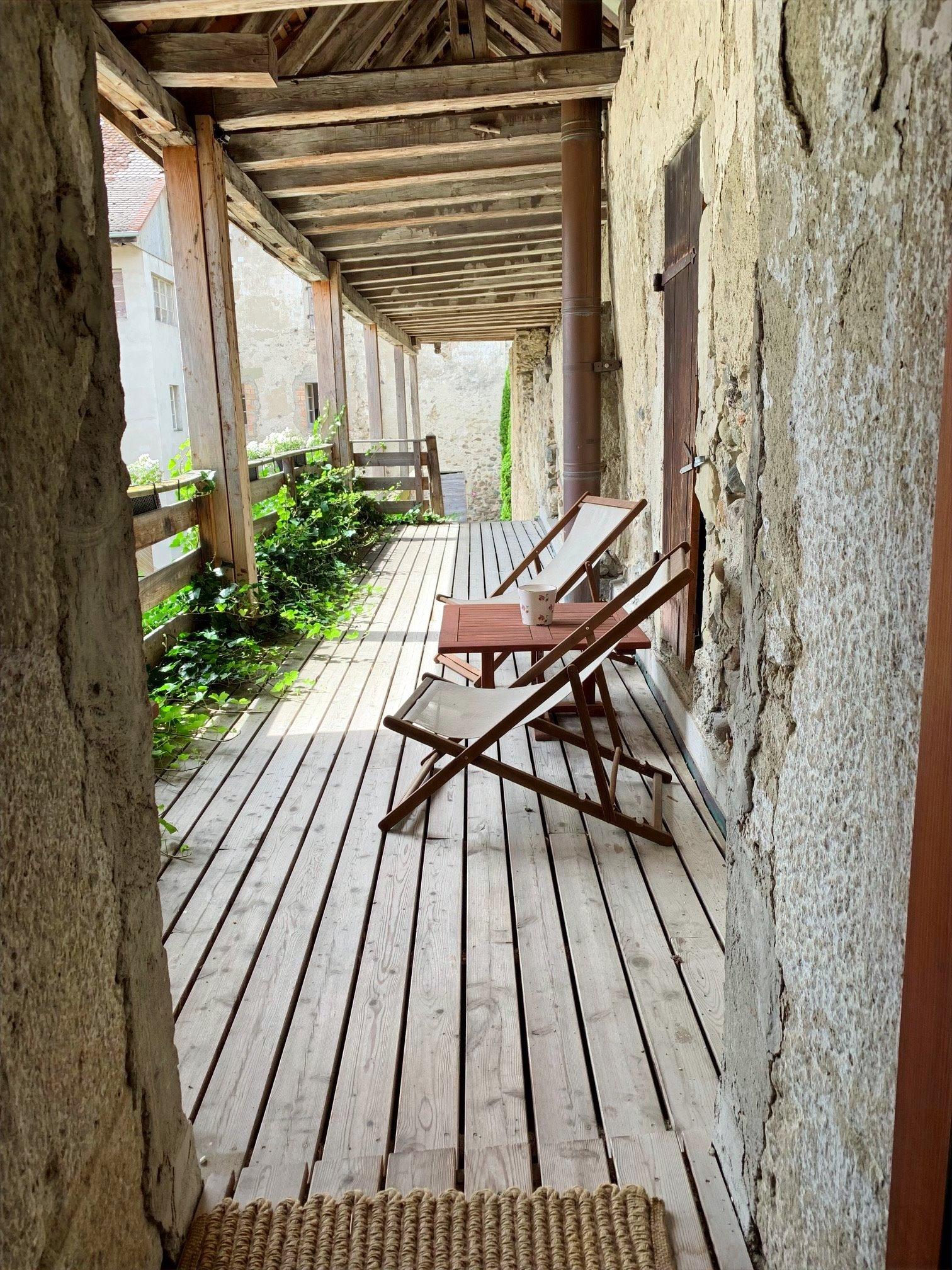 terrasse privée du Bailli