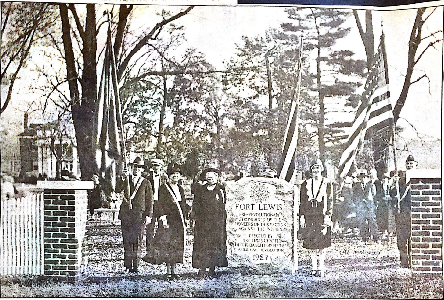 1927 Fort Lewis Dedication