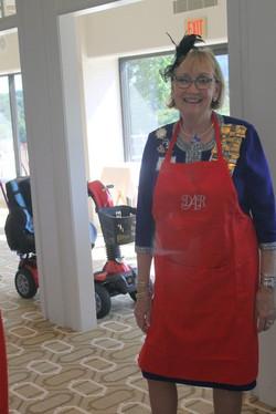 Member serving Tea