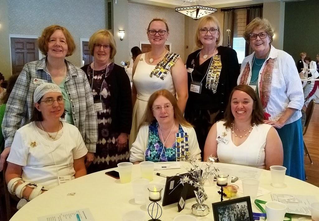 Members at District Meeting