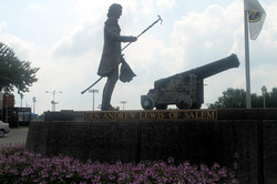 Andrew Lewis Statue