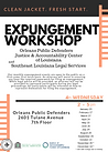 Monthly Expungement Workshop at OPD 2019