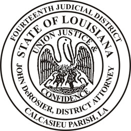 14th Judicial District Court District Attorney