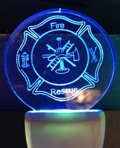 FIREMAN NIGHT LIGHT