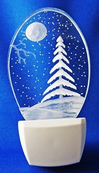 EVERGREEN TREE NIGHT LIGHT