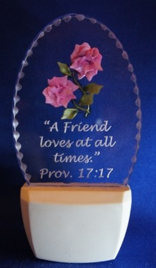 A FRIEND LOVES NL Bible Verse