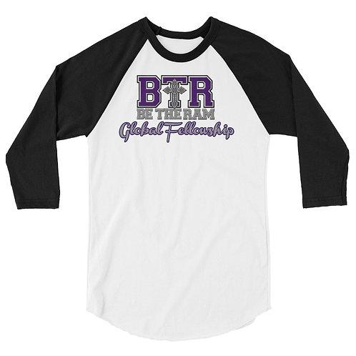 BTR 3/4 sleeve raglan shirt