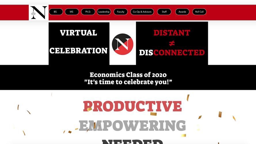 Northeastern Virtual Graduation