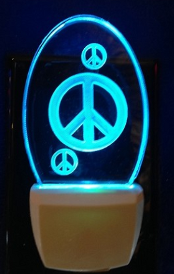 PEACE SIGNS NIGHT LIGHT