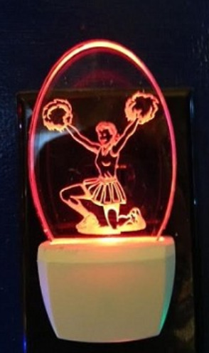 CHEERLEADER NIGHT LIGHT