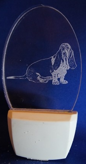 BASSET HOUND NIGHT LIGHT 2D