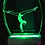 Thumbnail: FEMALE GYMNAST NIGHT LIGHT