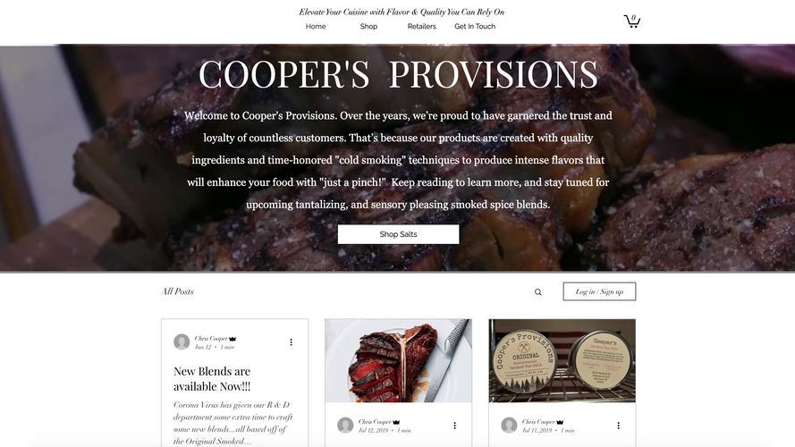 Cooper's Provisions
