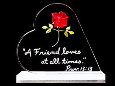 ROSE WITH SCRIPTURE
