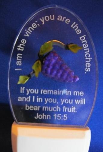 Bible verse John 15:5 I am the vine