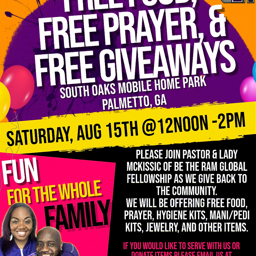 Back 2 School Outreach at South Oaks
