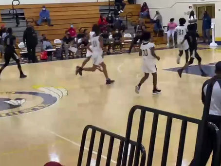 Kory Mincy brings the HEAT all 84FT
