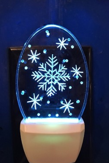 SNOWFLAKE NIGHT LIGHT