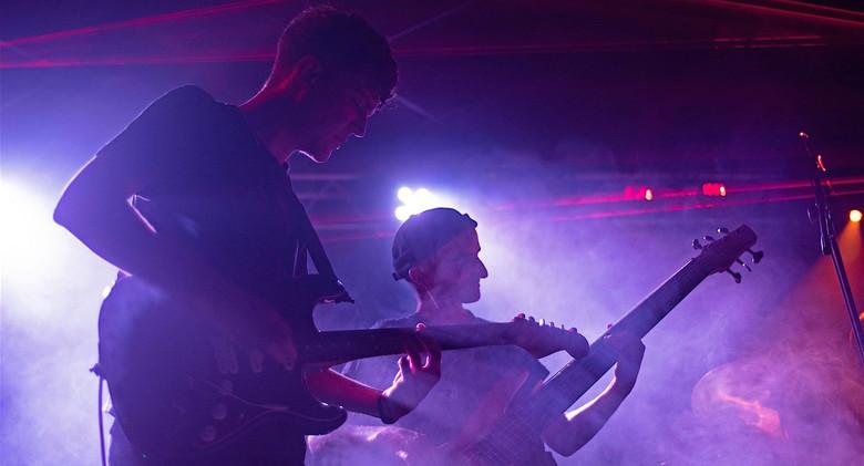 Esthesis Live @ L'Usine à Musique, The Awakening Tour, Toulouse, 17/09/21 Baptiste Desmares & Marc Anguill Photo : Damien L photographe