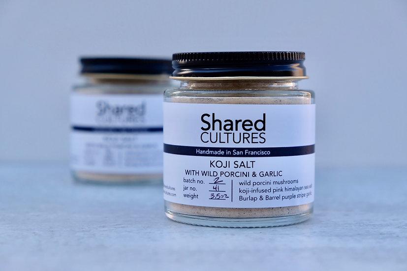 Koji Salt with Porcini & Garlic
