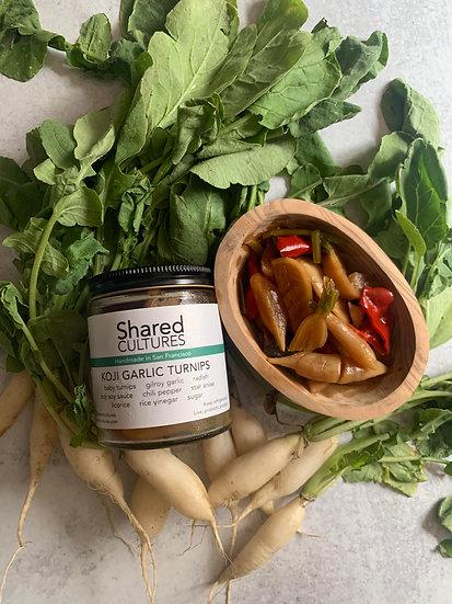 Koji Garlic Turnips