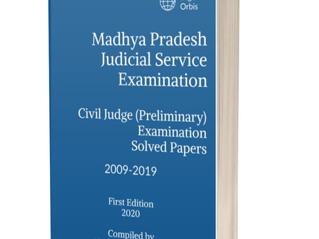 Madhya Pradesh Judicial Service Examination: Previous Years Solved MCQs