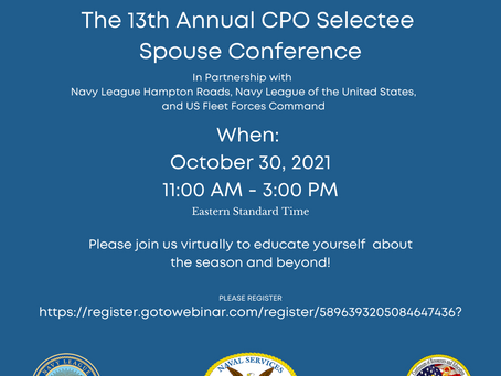 Calling all Chief Petty Officer Selectee Spouses!