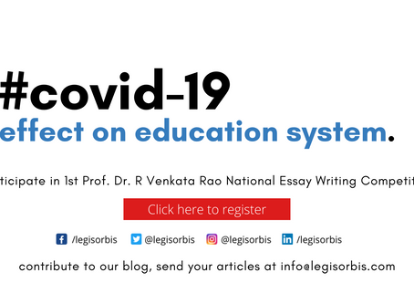COVID-19 Virus Infected The Education System Too!