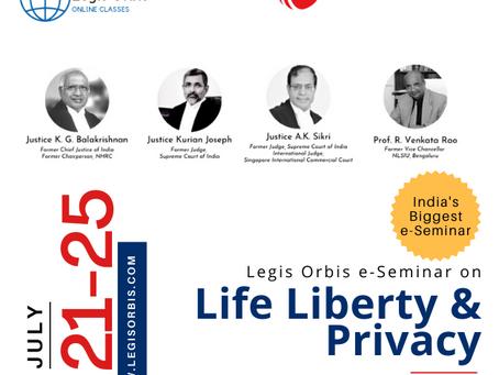 e-Seminar on Right to Privacy