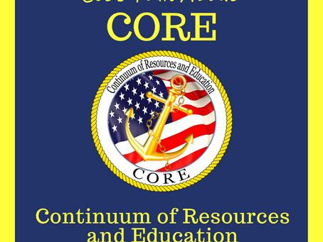Let's Talk About CORE!