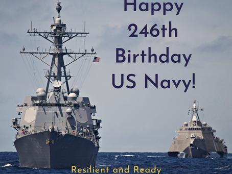 Happy 246th Birthday US Navy!