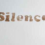 Ossequi, Silence, rust emulsion on paper