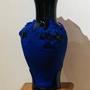 """""""Unbreakable misunderstadings"""", 2018, ceramic, glass, ceramic plaster"""