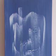 Collapse, 2018, acrylic on canvas, 30 x 40 cm