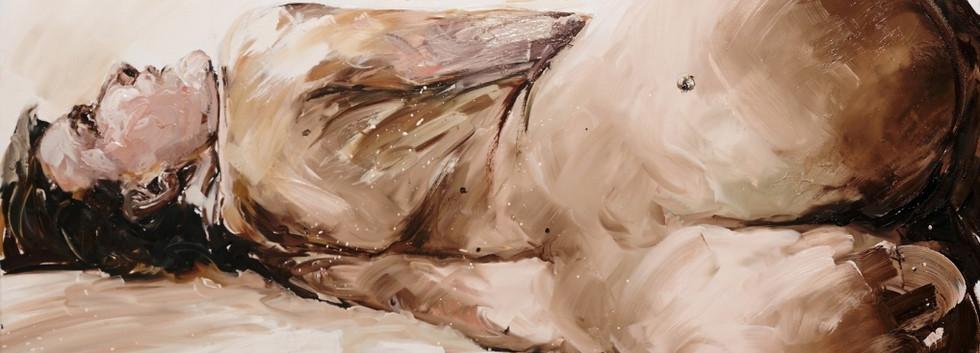 Philippe Pasqua, Nu, 2006, oli on canvas, 140 x 170 cm circa