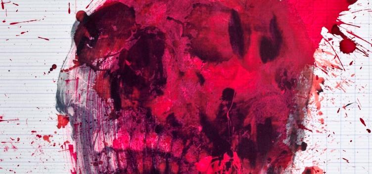 Philippe Pasqua, Vanitas, 2010,mixed media on canvas, 80 x 70 cm