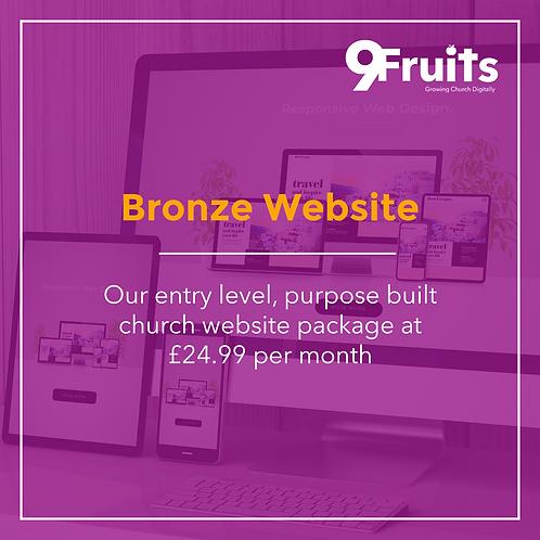 Bronze Website Package