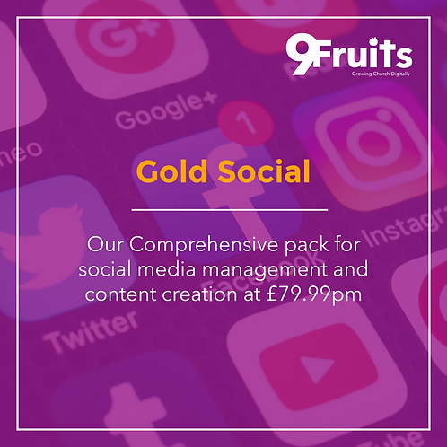 Gold Social Package