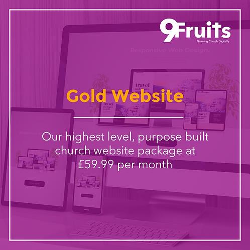 Gold Website Package