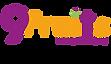 9 Fruits colour Logo with colour Digital
