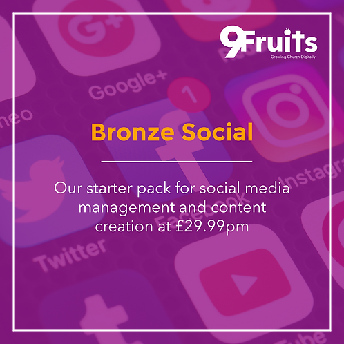 Bronze Social Package