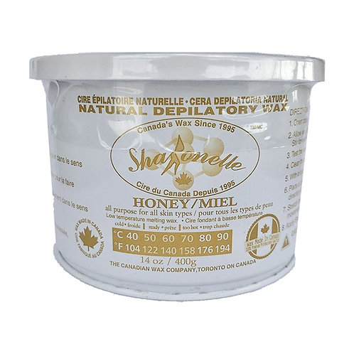 Sharonelle Natural Honey Soft Wax - 14oz