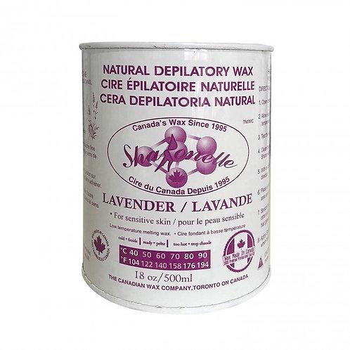 Sharonelle Lavender Depilatory Wax 18 oz