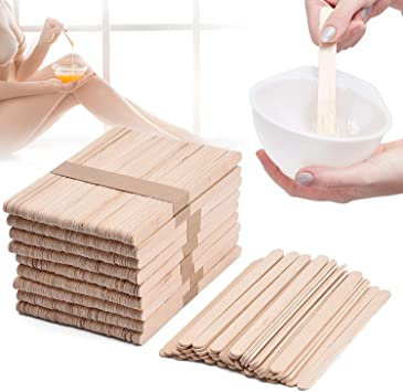 Sharonelle Wax Applicator Popsicle Stick 100pcs