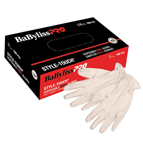 Babyliss Pro VINYL DISPOSABLE GLOVES