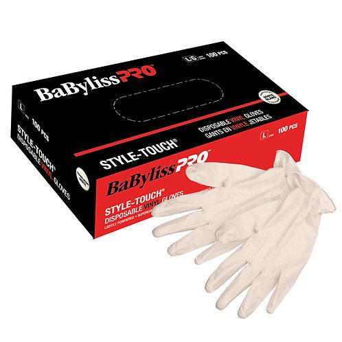 Babyliss Pro Disposable vinyl gloves