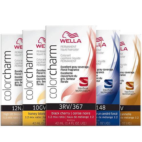 Wella Color Charm Permanent Liquid Hair Color 42ml bottle