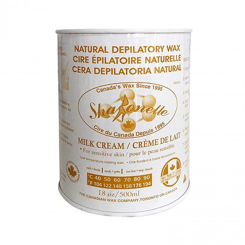 Sharonelle Milk Cream Depilatory Wax 18oz