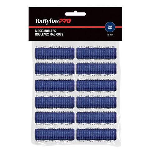 BaBylissPRO Self-Gripping Velcro Roller Dark Blue