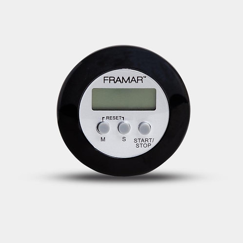 Framar Black Digital Timer